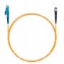 Шнур оптический spc E2000/UPC-ST/UPC62.5/125 3.0мм 2м LSZH (патч-корд)