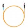 Шнур оптическийspc MU/UPC-FC/UPC62.5/125 2.0мм 5м LSZH (патч-корд)
