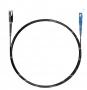 Шнур оптический spc MU/UPC-SC/UPC62.5/125 2.0мм 1м черный LSZH (патч-корд)
