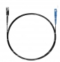 Шнур оптический spc MU/UPC-SC/UPC62.5/125 2.0мм 5м черный LSZH (патч-корд)