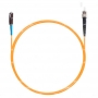 Шнур оптическийspc MU/UPC-ST/UPC62.5/125 2.0мм 15м LSZH (патч-корд)