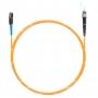Шнур оптическийspc MU/UPC-ST/UPC62.5/125 2.0мм 2м LSZH (патч-корд)