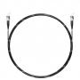 Шнур оптический spc ST/UPC-ST/UPC 62.5/125 3.0мм 1м черный LSZH (патч-корд)