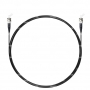 Шнур оптический spc ST/UPC-ST/UPC 62.5/125 3.0мм 2м черный LSZH (патч-корд)