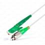 Шнур оптический spc E2000/APC-FC/APCG.657A1 9/125 3.0мм 1м LSZH (патч-корд)