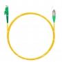 Шнур оптический spc E2000/APC-FC/APC9/125 3.0мм 3м LSZH (патч-корд)