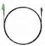 Шнур оптический spc E2000/APC-LC/APC9/125 3.0мм 10м черный LSZH (патч-корд)
