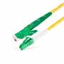 Шнур оптический spc E2000/APC-LC/APC9/125 3.0мм 2м LSZH (патч-корд)