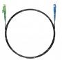 Шнур оптический spc E2000/APC-SC/APC9/125 3.0мм 1м черный LSZH (патч-корд)