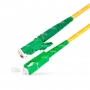 Шнур оптический spc E2000/APC-SC/APC9/125 3.0мм 10м LSZH (патч-корд)