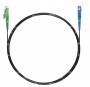 Шнур оптический spc E2000/APC-SC/APC9/125 3.0мм 2м черный LSZH (патч-корд)