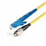 Шнур оптический spc E2000/UPC-FC/UPC9/125 3.0мм 15м LSZH (патч-корд)