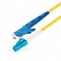 Шнур оптический spc E2000/UPC-LC/UPC9/125 3.0мм 15м LSZH (патч-корд)