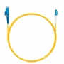 Шнур оптический spc E2000/UPC-LC/UPC9/125 3.0мм 1м LSZH (патч-корд)