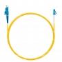 Шнур оптический spc E2000/UPC-LC/UPC9/125 3.0мм 3м LSZH (патч-корд)