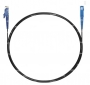 Шнур оптический spc E2000/UPC-SC/UPC9/125 3.0мм 10м черный LSZH (патч-корд)