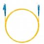 Шнур оптический spc E2000/UPC-SC/UPC9/125 3.0мм 1м LSZH (патч-корд)