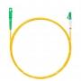 Шнур оптическийspc LC/APC-SC/APC9/125 3.0мм 2м LSZH (патч-корд)