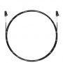 Шнур оптический spc LC/UPC-LC/UPC 9/125 3.0мм 1м черный LSZH (патч-корд)