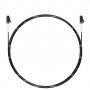 Шнур оптический spc LC/UPC-LC/UPC 9/125 3.0мм 2м черный LSZH (патч-корд)