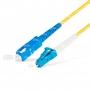 Шнур оптическийspc LC/UPC-SC/UPC9/125 3.0мм 5м LSZH (патч-корд)