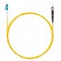 Шнур оптическийspc LC/UPC-ST/UPC9/125 3.0мм 3м LSZH (патч-корд)