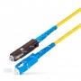 Шнур оптическийspc MU/UPC-SC/UPC9/125 2.0мм 10м LSZH (патч-корд)