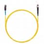 Шнур оптическийspc MU/UPC-ST/UPC9/125 2.0мм 10м LSZH (патч-корд)