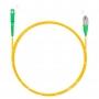 Шнур оптический spc SC/APC-FC/APC 9/125 3.0мм 5м LSZH (патч-корд)