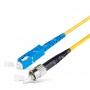 Шнур оптический spc SC/UPC-FC/UPC 9/125 3.0мм 20м LSZH (патч-корд)