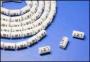Маркеры на кабель, круглые, цифра 1, внутр. диам. 4.2мм (100 шт) Hyperline
