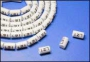 Маркеры на кабель, круглые, цифра 4, внутр. диам. 4.2мм (100 шт) Hyperline