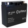 Аккумуляторная батарея Optimus OP 1218 (12V / 18Ah)