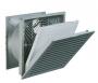 Вентилятор с фильтром для шкафов Elbox серии EMS, 320х320х150, до 950 м3/ч, 230 В, IP 55, цвет серый
