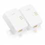 Комплект Powerline адаптеров Zyxel PLA5405 v2, AV1300 (до 1300Мбит/с), 1xLAN GE / PLA5405 v2,EU, 1300 Mbps MIMO Powerline Gigabit Ethernet Adapter