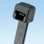 Неоткрывающаяся кабельная стяжка Pan-Ty® 142х2,5мм, (ШхД), миниатюрная, из погодоустойчивого нейлона, диаметр жгута кабелей 1,5-32 мм, цвет черный (100 шт.) PANDUIT