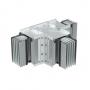 DKC / ДКС PTA06EHTE2AA Горизонтальный Т-отвод стандартный, тип 2, Al, 3P+N+Pe, 630А, IP55