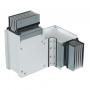DKC / ДКС PTA20GHTE3AA Горизонтальный Т-отвод стандартный, тип 3, Al, 3P+N+Pe+Fe, 2000А, IP55