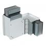 DKC / ДКС PTA25GHTE3AA Горизонтальный Т-отвод стандартный, тип 3, Al, 3P+N+Pe+Fe, 2500А, IP55