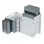 DKC / ДКС PTA40GHTE4AA Горизонтальный Т-отвод стандартный, тип 4, Al, 3P+N+Pe+Fe, 4000А, IP55