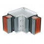 DKC / ДКС PTC08GHEL4AA Горизонтальный угол спец. исполнение, тип 2, Cu, 3P+N+Pe+Fe, 800А, IP55