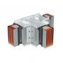 DKC / ДКС PTC08GHTE2AA Горизонтальный Т-отвод стандартный, тип 2, Cu, 3P+N+Pe+Fe, 800А, IP55