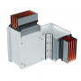 DKC / ДКС PTC25IHTE3AA Горизонтальный Т-отвод стандартный, тип 3, Cu, 3P+N+Pe+Fe/2, 2500А, IP55