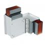 DKC / ДКС PTC40IHTE3AA Горизонтальный Т-отвод стандартный, тип 3, Cu, 3P+N+Pe+Fe/2, 4000А, IP55