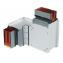 DKC / ДКС PTC40IHTE4AA Горизонтальный Т-отвод стандартный, тип 4, Cu, 3P+N+Pe+Fe/2, 4000А, IP55