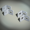 Углы крепёжные, вырез - вырез, 1 упаковка - 10 шт. DKC/ДКС