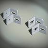Углы крепёжные, вырез - резьба М8, 1 упаковка - 10 шт. DKC/ДКС