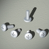 Винты самонарезающие, М4.8x12, 1 упаковка - 50 шт. DKC/ДКС
