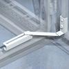 Ограничитель угла открытия двери, 90 гр., для прозрачных дверей Ш=800,1000мм DKC/ДКС