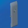 Комплект замка для шкафов DAE/CQE (большая ручка, цилиндр FIAT) DKC/ДКС